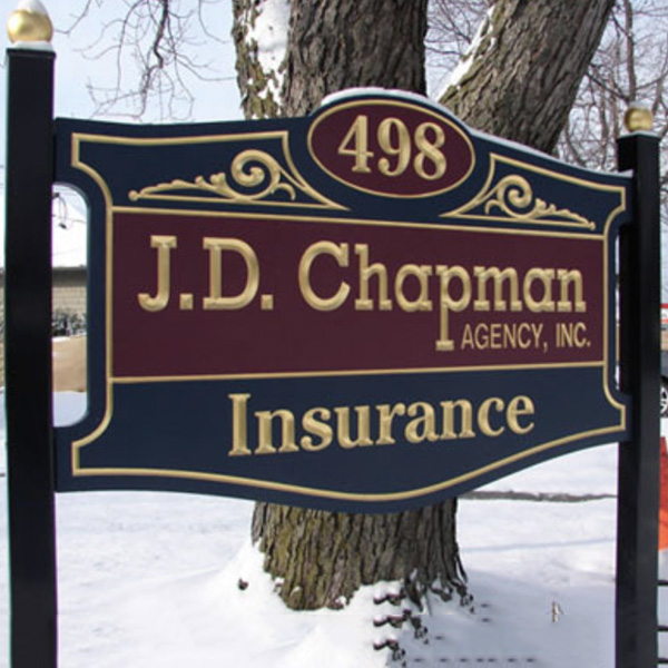 J.D. Chapman Signage - CCMI Plastics